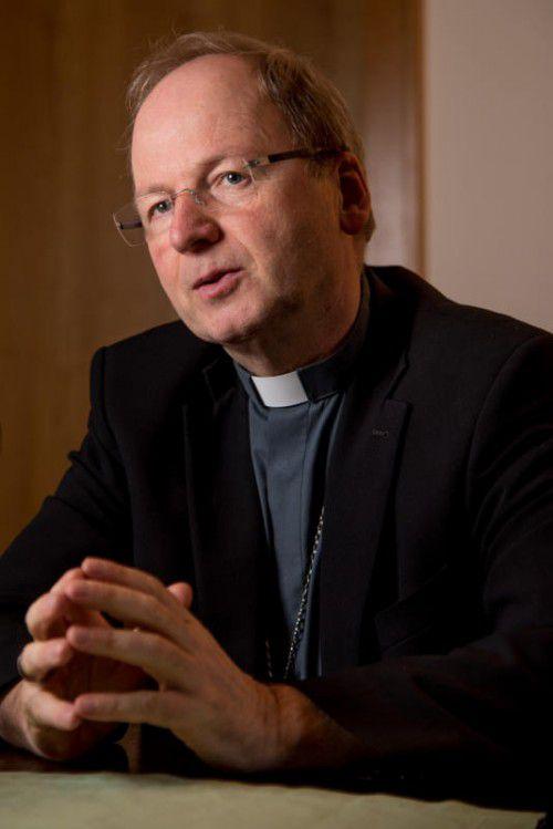Bischof Benno Elbs setzt auf die Kraft des Vertrauens.  Foto: Lerch