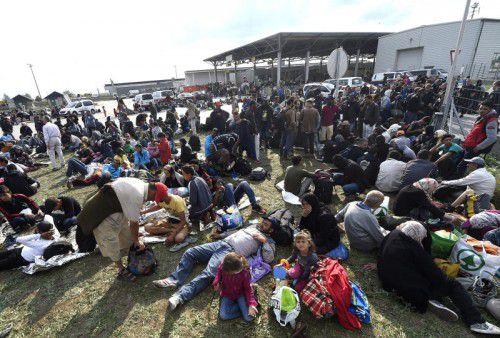 Nickelsdorf: Vor einem Jahr wurden die Grenzen geöffnet. Tausende Flüchtlinge machten sich auf den Weg nach Österreich. APA