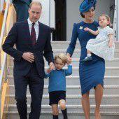 Prinz William und Kate zu Besuch in Kanada