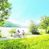 Mit dem Fahrrad durch die Region