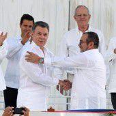 Friedenspakt für Kolumbien unterzeichnet