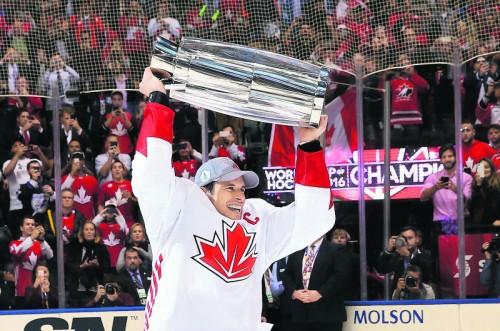 Sidney Crosby und das Team Kanada gewann zum dritten Mal in Serie den World Cup. Foto: apa