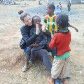 Einsatz für Waisenkinder