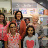 Fleißige Sommerleser in Lustenau wurden belohnt