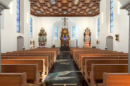 So soll die Bildsteiner Wallfahrtskirche in einem Jahr aussehen. Die Bauarbeiten beginnen bald. computerbild: Lenz
