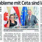 CETA und TTIP abgelehnt