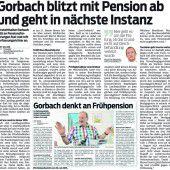 Hubert Gorbachs wohlerworbene Rechte