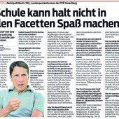 Walser wirft FPÖ-Bösch Ahnungslosigkeit vor