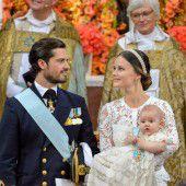 Prinzen-Taufe mit vielen Schmunzelmomenten