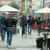Diskussion um Radfahrer in Bregenzer Kaiserstraße