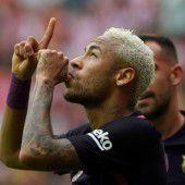 Neymar verlängert Vertrag in Barcelona