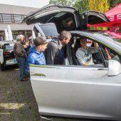 Großes Interesse an Elektroautos