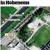 Beim Bordell Hohenems geht es zurück zum Start