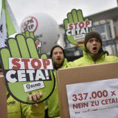 Proteste gegen Ceta