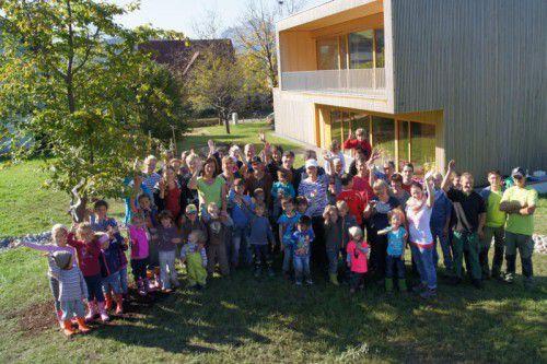 Die Kinder freuten sich über die Zertifizierung. Foto: VN/TK