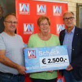 2500 Euro vom HC Hard für Ma hilft