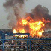 Detonation in BASF-Werk