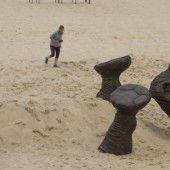 Kunst am Strand von Sydney