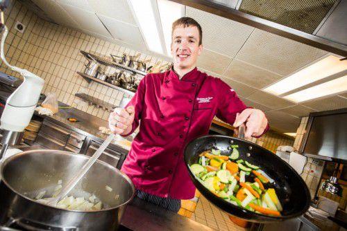 Jury-Mitglied Thomas Helbock vom Wirtshaus Taube in Alberschwende freut sich auf Ihre Rezepte.  Steurer