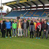 Schülerliga-Trainer zu Besuch beim Bundesligisten Cashpoint SCR Altach