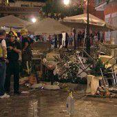 90 Verletzte nach Gasexplosion in Café