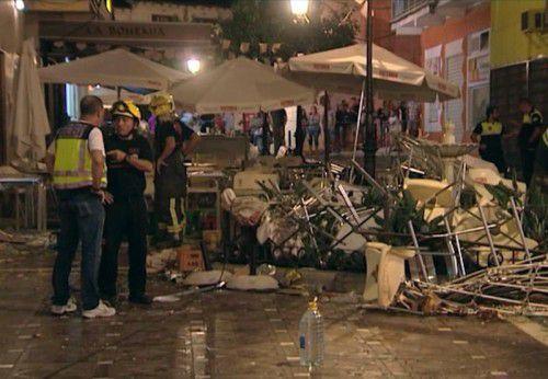 90 Menschen wurden bei der Gasexplosion teils schwer verletzt.  Foto: ap