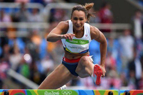 Abschied mit Silber in Rio: Jessica Ennis-Hill. Foto: apa