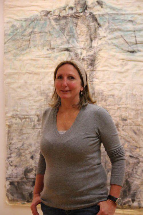 """""""Abseitig – Jenseits des Brokats"""" lautet der Titel der Schau mit Arbeiten der Vorarlberger Künstlerin Ch.Lingg.  Foto: AG"""