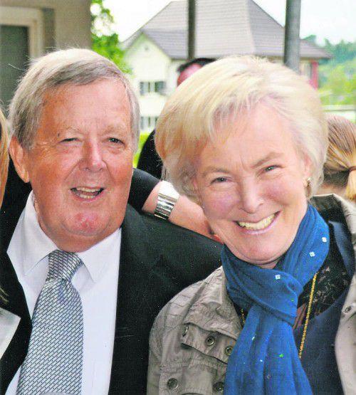 Aktiv und mit viel Lebensfreude genießen die beiden ihre ruhigeren Jahre.  Foto: VN/Wörz