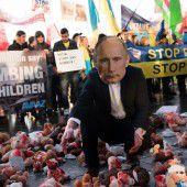 Putin bei Krisengipfel in Berlin