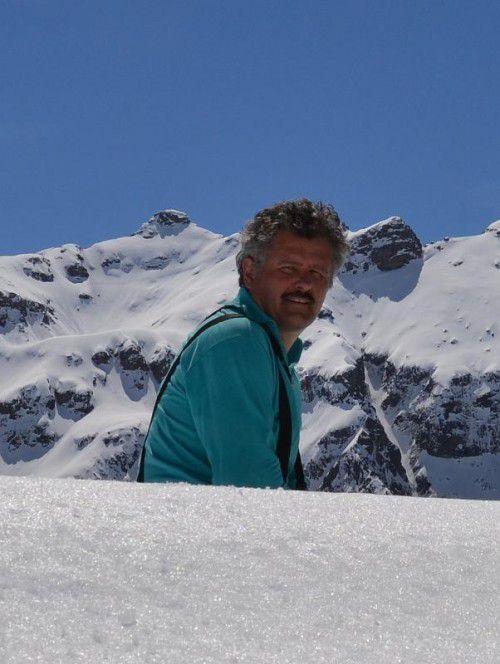 Am liebsten hält sich Friedrich in den heimischen Bergen auf. Dort fühlt er sich wohl, dort ist sein Arbeitsplatz.