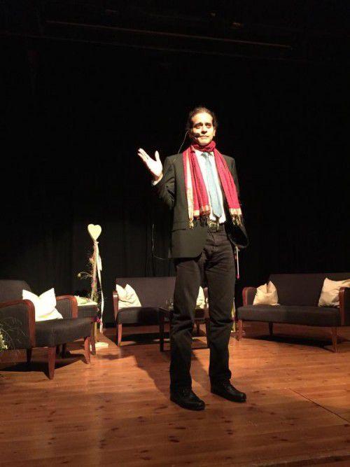 André Stern eröffnete mit seinem Vortrag das Forum.  VN/hes