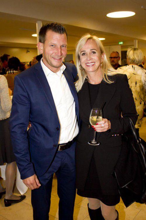 Andreas Wegscheider (l.) und Susanne Messmer.
