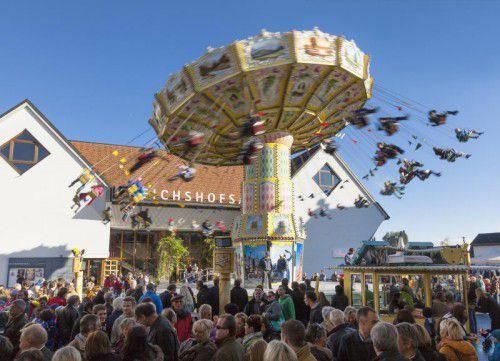 Auch wenn das Wetter dieses Jahr nicht mitspielen soll, bleibt die Lustenauer Kilbi ein Publikumsmagnet.               foto: marketing lustenau