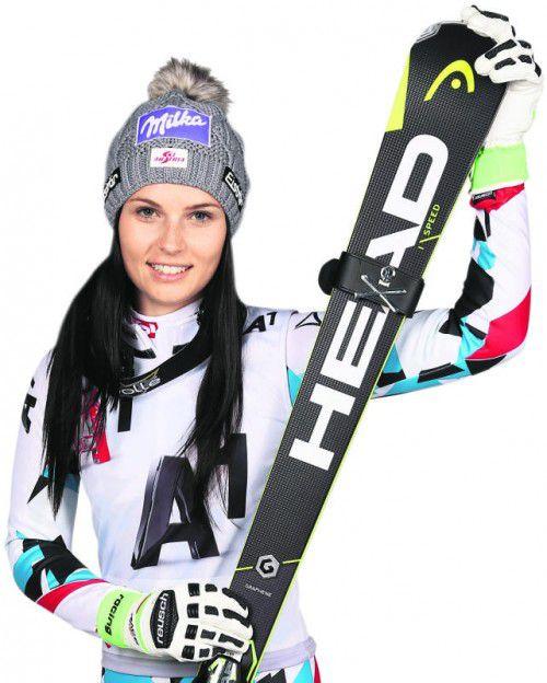 Auf Skiern läuft es für Anna Veith noch nicht nach Wunsch. Foto: gepa