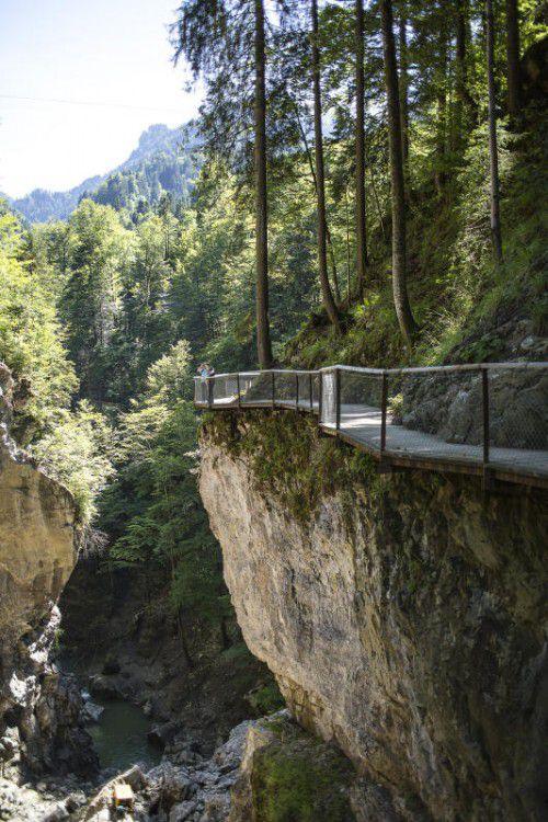 Aufgrund der Arbeiten an den Wasserleitungen bleibt der Rappenlochweg teilweise gesperrt. Foto: ha