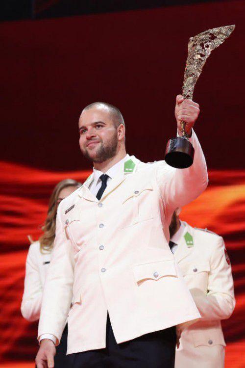 Aufsteiger des Jahres: Diskuswerfer Lukas Weißhaidinger. Foto: gepa