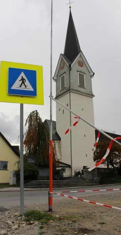 Behördenverfahren: Das Projekt wurde in Hohenweiler ausgesteckt.