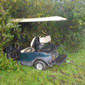Spritztour mit Golfcaddy