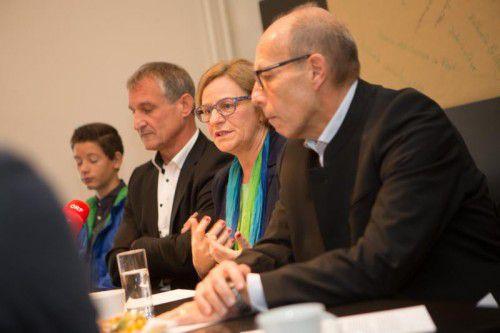 Bgm. Markus Linhart, Jutta Dieing, StR. Michael Rauth. Foto: VN/KH