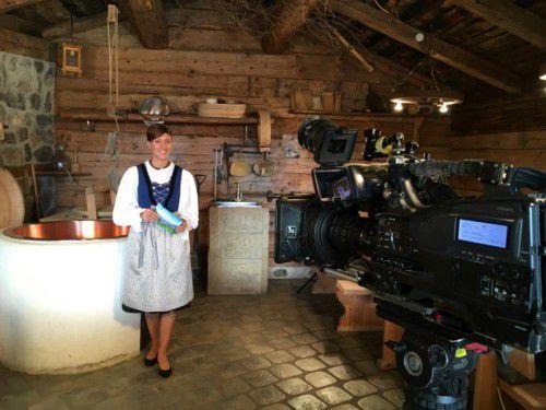 Bianca Oberscheider moderiert die Sendung. Foto: Ländle TV