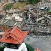 Schäden nach Beben in Japan