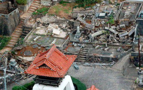 Bilanz nach dem Beben: Leichte Schäden und sieben Verletzte.