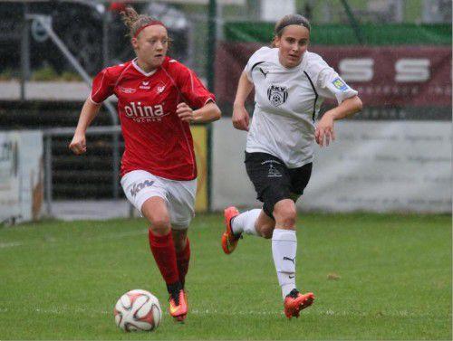 Gasparini erzielte gegen Taufkirchen ihre Saisontore drei und vier. KNOBEL