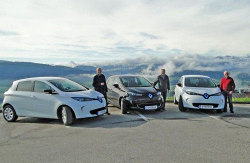 Carsharing mit Elektrofahrzeugen ist in Sulzberg und der Energieregion Vorderwald ein großes Thema. Foto: me