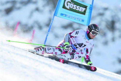 Christian Hirschbühl setzte sich vor einem Jahr mit Platz 22 in Sölden sehr gut in Szene. Fotos: gepa