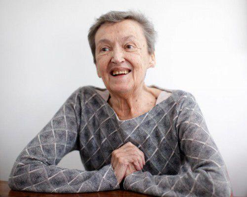 Christine Nöstlinger ist ein Geburtstagsmuffel. Sie feiert ihren Ehrentag auch in diesem Jahr nicht. Foto: APA