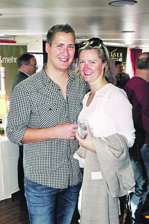 Daniel Wachter und Manuela Dreier (WKV).