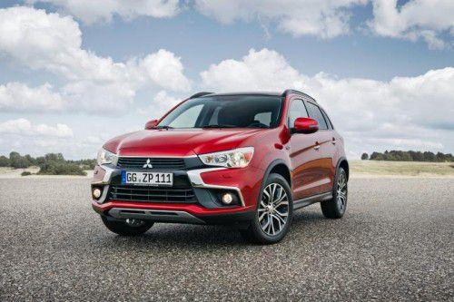 Das neue Familiengesicht von Mitsubishi schmückt ab November auch den kompakten SUV-Bestseller ASX. Fotos: werk