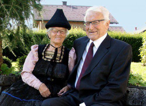 Das Paar freut sich über 60 gemeinsame Jahre.